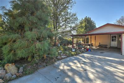 Commerce City Single Family Home Under Contract: 8655 Xanthia Street
