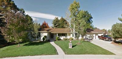 Denver Single Family Home Active: 3941 South Benton Way