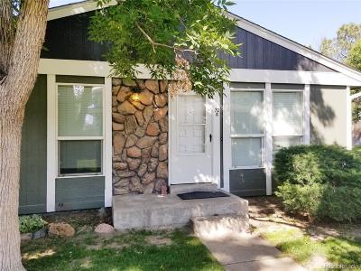 Denver Condo/Townhouse Under Contract: 10001 East Evans Avenue #72A