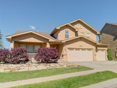 Colorado Springs Single Family Home Active: 12614 Woodmont Drive