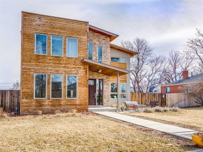 Denver Single Family Home Active: 4030 Bryant Street