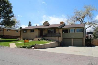 Arvada Single Family Home Active: 7845 Newman Street
