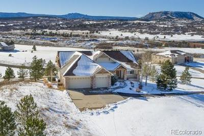 Castle Rock Single Family Home Under Contract: 4638 Mariposa Road
