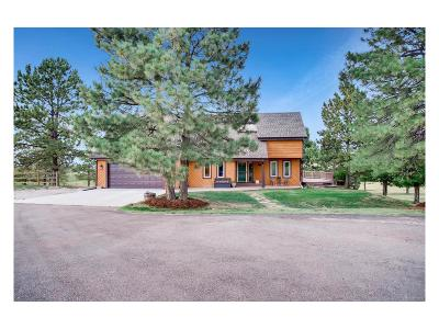 Parker Single Family Home Active: 7565 Homestead Road