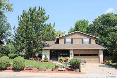 Littleton Single Family Home Active: 5889 West Fair Drive