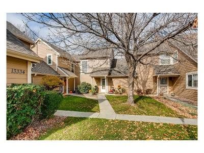 Arapahoe County Condo/Townhouse Under Contract: 13326 East Asbury Drive