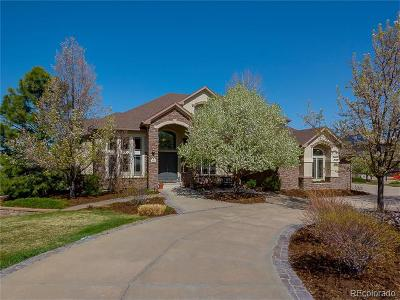 Castle Pines CO Single Family Home Active: $1,475,000