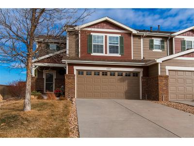 Castle Rock CO Condo/Townhouse Under Contract: $327,000
