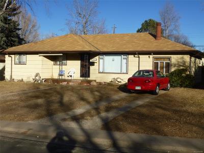 Littleton Single Family Home Active: 6254 South Prescott Street