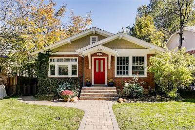 Boulder Single Family Home Under Contract: 870 15th Street