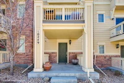 Lone Tree Condo/Townhouse Sold: 10249 Bellwether Lane