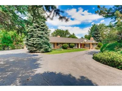 Englewood Single Family Home Active: 4285 South Hudson Parkway