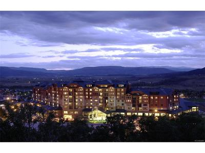 Steamboat Springs Condo/Townhouse Active: 2300 Mt Werner Circle #539