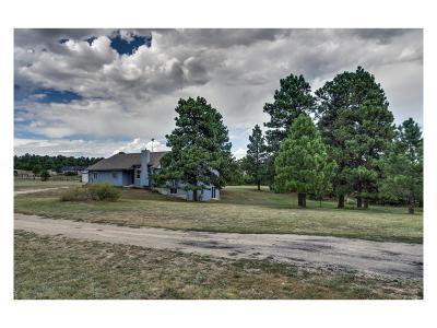 Kiowa Single Family Home Under Contract: 11765 County Road 110