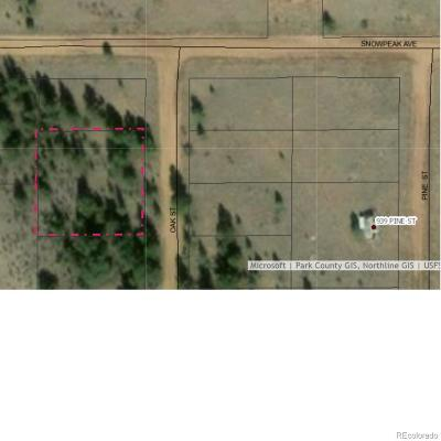 Hartsel CO Residential Lots & Land Active: $3,200