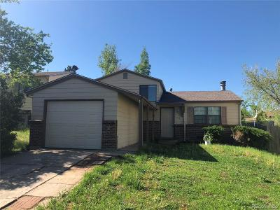 Aurora, Denver Single Family Home Under Contract: 17830 East Princeton Place