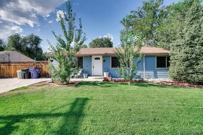 Denver Single Family Home Active: 4889 West Mississippi Avenue