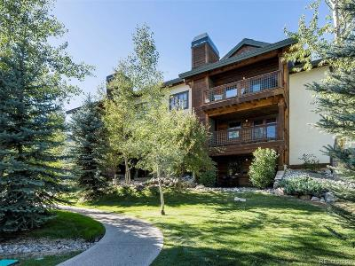 Steamboat Springs CO Condo/Townhouse Active: $290,000