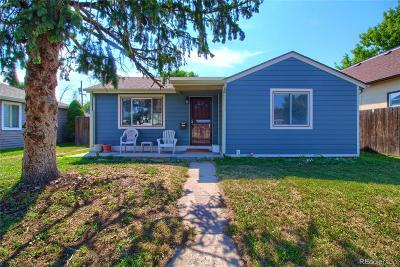 Denver Single Family Home Active: 5025 Tejon Street