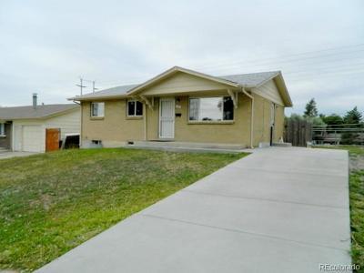 Aurora, Denver Single Family Home Under Contract: 7781 Granada Road
