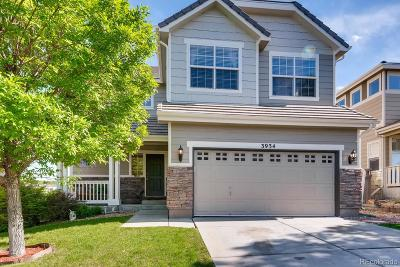 The Meadows Single Family Home Under Contract: 3934 Miners Candle Place