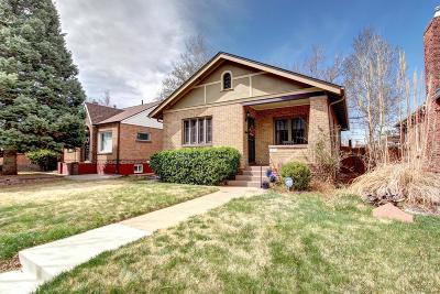Denver Single Family Home Active: 1927 South Sherman Street