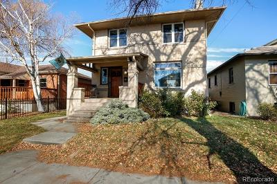 Denver Single Family Home Active: 4135 East 16th Avenue