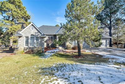 Elbert County Single Family Home Under Contract: 1355 Conifer Trail