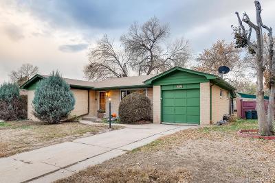 Littleton Single Family Home Under Contract: 3374 West Belmont Avenue
