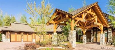 Steamboat Springs Single Family Home Active: 1055 Anglers Drive