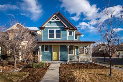 Denver Single Family Home Active: 3405 Florence Way