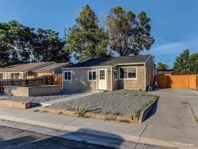 Commerce City Single Family Home Active: 7770 Olive Street