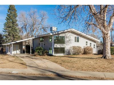 Denver Single Family Home Active: 1470 South Kearney Street