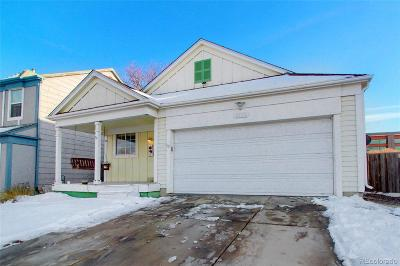 Brighton Single Family Home Under Contract: 5700 East 120th Place