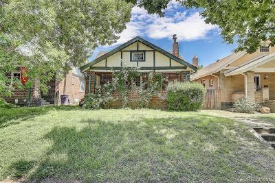 Denver Single Family Home Active: 3622 Federal Boulevard
