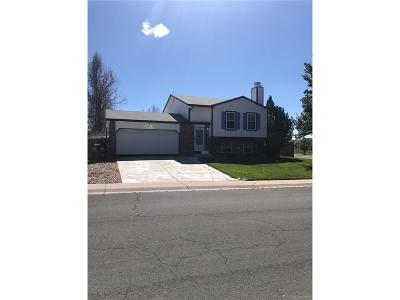 Aurora, Denver Single Family Home Under Contract: 19608 East Bails Place