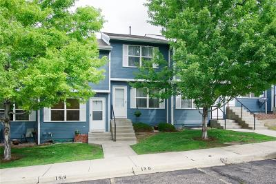 Castle Rock Condo/Townhouse Under Contract: 2029 Oakcrest Circle