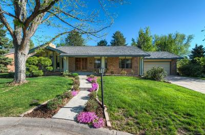 Littleton Single Family Home Under Contract: 4953 West Maplewood Avenue