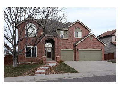 Highlands Ranch Single Family Home Under Contract: 1051 Beacon Hill Drive