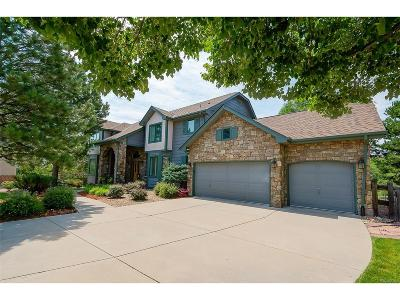 Castle Pines CO Single Family Home Under Contract: $925,000