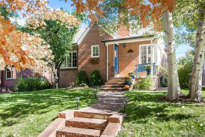Denver Single Family Home Active: 704 South Gaylord Street