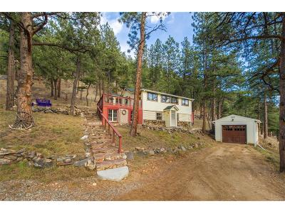 Evergreen Single Family Home Under Contract: 3010 Kerr Gulch Road