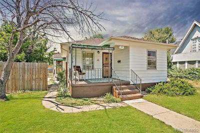 Denver Single Family Home Active: 4859 Lowell Boulevard
