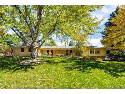Arapahoe County Single Family Home Active: 4020 South Dahlia Street