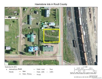 Oak Creek, Phippsburg, Yampa, Toponas Residential Lots & Land Active: 21735 State Highway 131