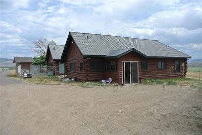 Routt County Single Family Home Under Contract: 41355 County Road 80