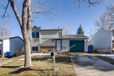 Aurora Single Family Home Under Contract: 3936 South Pitkin Way