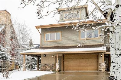 Steamboat Springs Single Family Home Active: 3264 Snowflake Court