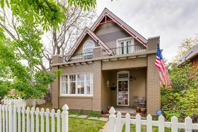 Denver Single Family Home Active: 64 West Archer Place