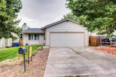 Aurora Single Family Home Active: 4212 South Laredo Way